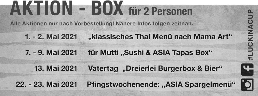 Aktion Box von Luck in a Cup in Essen